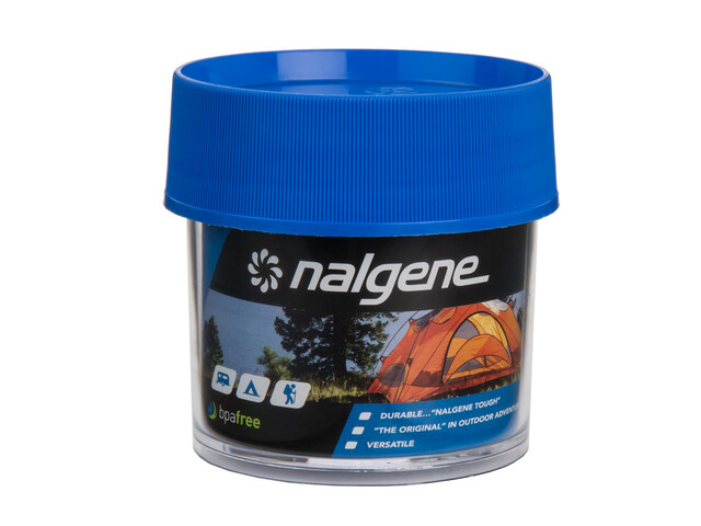 Nalgene Dose Polycarbonat 125ml blue